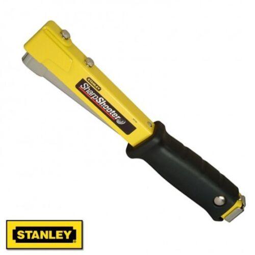 Stanley Hammer Tacker Carpeting Upholstery Roofing Staple Gun Stapler STA0PHT150