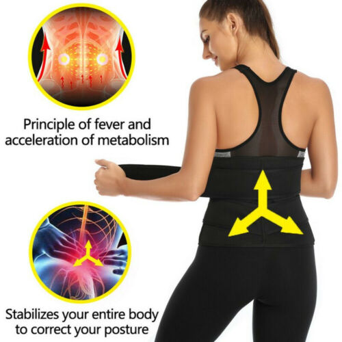 Women Underbust Waist Trainer Cincher Sport Girdle Corset Hourglass Body Shaper