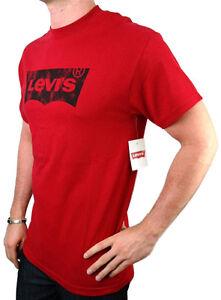 NEW-NWT-LEVI-039-S-MEN-039-S-PREMIUM-CLASSIC-COTTON-T-SHIRT-SHIRT-TEE-RED
