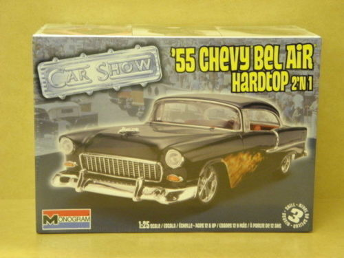 85-4295 Revell 1 25 1955 CHEVY BEL AIR HARDTOP 2 IN 1 model kit new in the box
