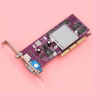 NVIDIA-Geforce-4MX-440-AGP-8X-64MB-SDR-Video-Card-VGA-S-Video-Composite-Out