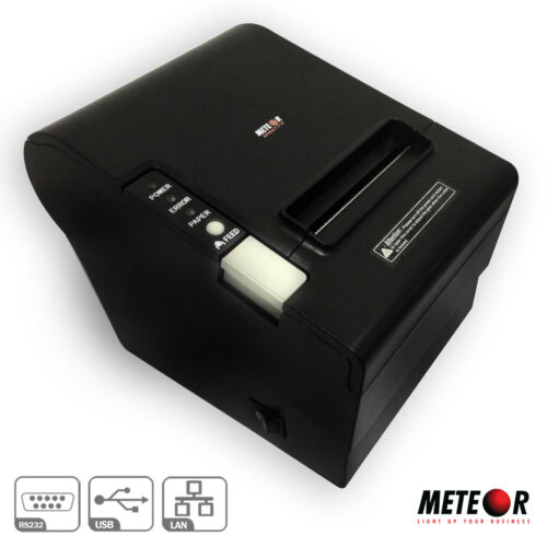 STAMPANTE POS TERMICA METEOR SPRINT R 80MM PORTA USB RS232C ETHERNET