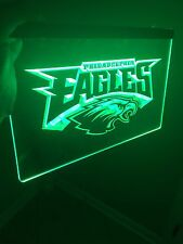 Philadelphia Eagles LED Neon Sign for Game Room,Office,Bar,Man Cave NFL.