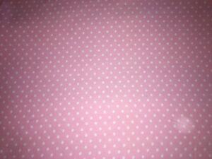 Tissu Vintage Flanelle Rose Pois Blanc Larg 74 Cm X H 450 Réf A109 Distinctive Pour Ses PropriéTéS Traditionnelles