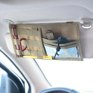 Vehicle-Visor-Panel-EDC-Tool-Pouch-Storage-Bag-Truck-Car-Sun-Visor-Organi-PL