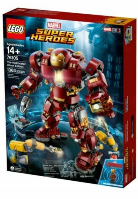 LEGO SUPER HEROES MARVEL  `` THE HULKBUSTER ULTRON EDITION ´´  Ref 76105 NUEVO