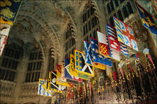 806081 Knights Grand Cross Order Of The Bath Banners In The Lady Chapel A4 Photo