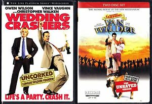 Wedding Crashers 2.Details About Wedding Crashers National Lampoon S Van Wilder 2 Dvds Widescreen Unrated