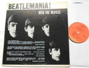 THE BEATLES Beatlemania CANADA 1976 CAPITOL STEREO ORANGE