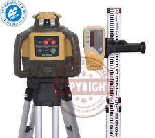 New Topcon Rl H5a Self Leveling Rotary Slope Laser Level Package Grade Inch