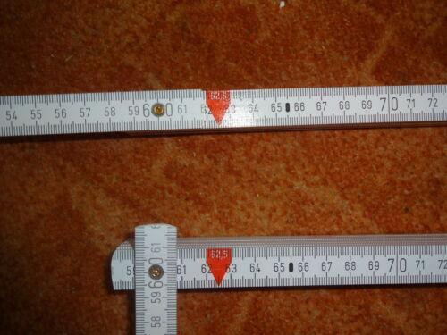2 Piece Inch Sticks with Grip Dry baumaß Scale Inch Stock Gift