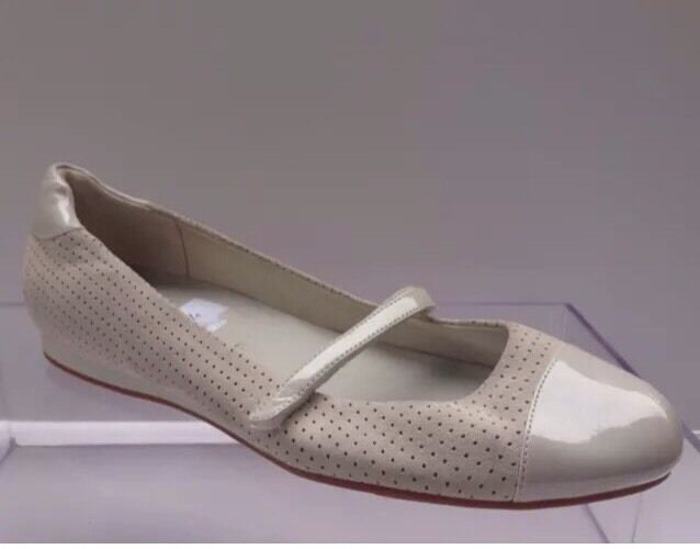 Cole Haan Pavement Mary Jane Flats, Ivory, Size 9.5