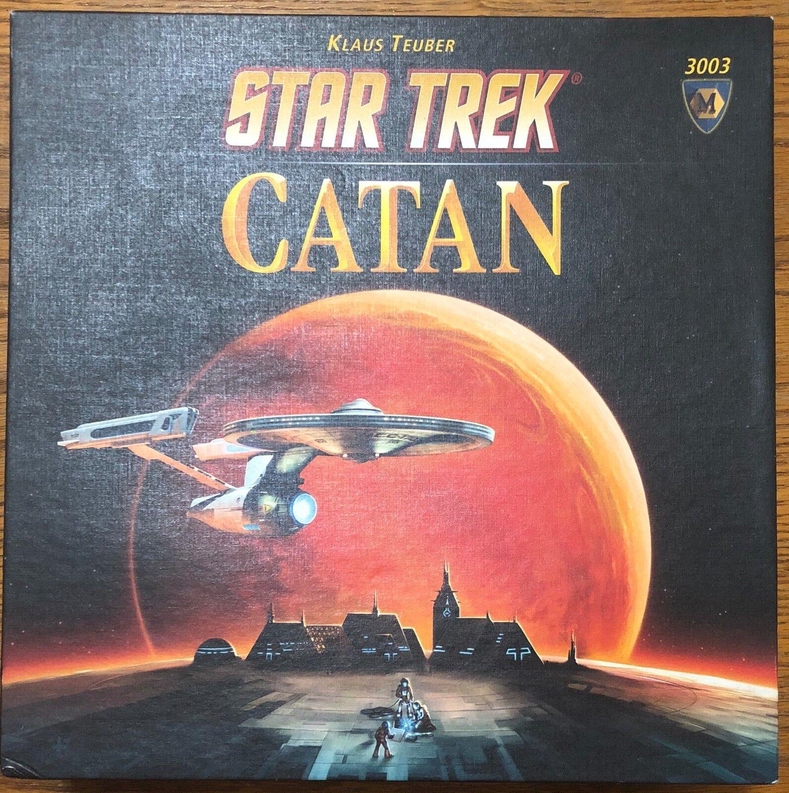 Avvecklingar av Catan stjärna TREK CATAN Fullständig Klaus Teuber