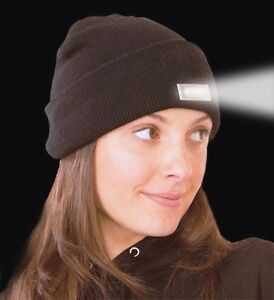 2-Pack-LED-Beanie-Lighted-Cap-Warm-Wool-Hat-Winter-Flashlight-Style-Night-New