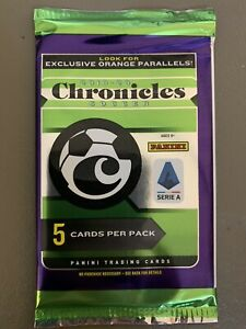 2019-20-PANINI-CHRONICLES-SOCCER-PACK-FACTORY-SEALED-5-CARDS-RC-FREE-SHIP