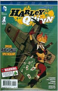 HARLEY QUINN ANNUAL #1 BOMBSHELL VARIANT RUB N SMELL SEALED DC SUICIDE SQUAD