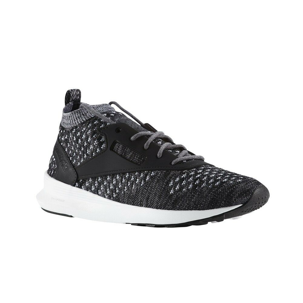 Reebok Zoku Runner Ultraknit Htrd (COAL BLACK MEDIUM GREY AS) Men's shoes BD5487