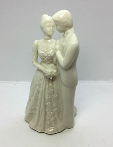 Image Is Loading Lenox Wedding Promises Collection Bride Groom Cake