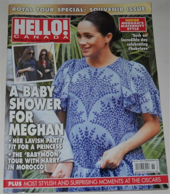 Hello Canada Magazine No 650 March 11 2019 A Baby Shower For Meghan Katy Perry