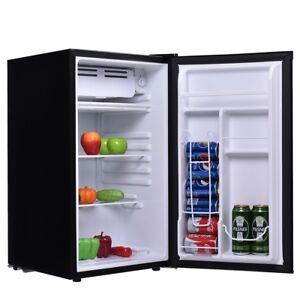3.2 Cu.Ft. Mini Small Fridge Compact Refrigerator Beverage Freezer ...