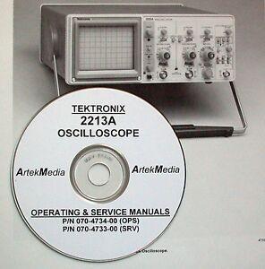 tektronix 2213a operating service manuals 2 vol ebay rh ebay com