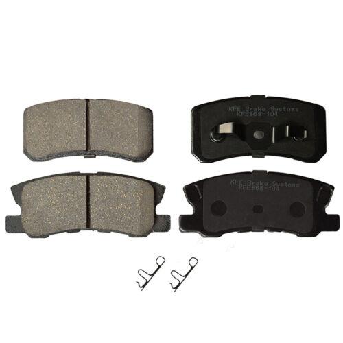 Ceramic Disc Brake Pad FRONT REAR Fits Mitsubishi Endeavor Montero KFE867-868