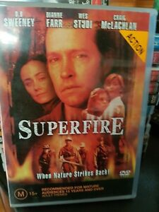 Superfire-DVD-2003-R4-D-B-Sweeney-R4-Terrific-Condition