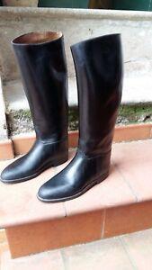 Stivali In Gomma Usati N.42 Foderati Made In France Ottima Qualita'