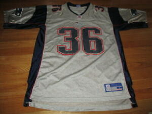Details about Reebok LAWYER MILLOY No. 36 NEW ENGLAND PATRIOTS On-Field (LG) Jersey SILVER