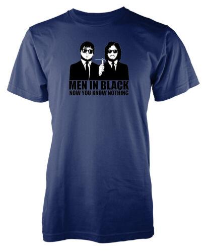 GAME OF THRONES MEN IN BLACK sbriciolare adesso sai niente Adulto T-shirt