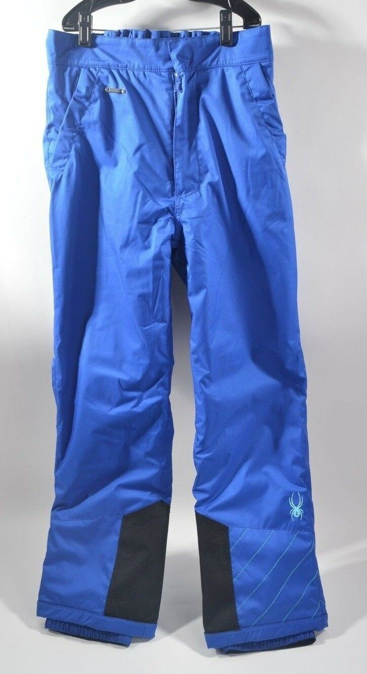 2010 GIRLS SPYDER MIMI INSULATED SNOWBOARD PANTS  100 16 Blau USED 3 TIMES
