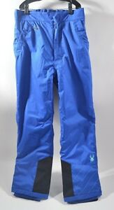 2010-GIRLS-SPYDER-MIMI-INSULATED-SNOWBOARD-PANTS-16-blue-USED-3-TIMES