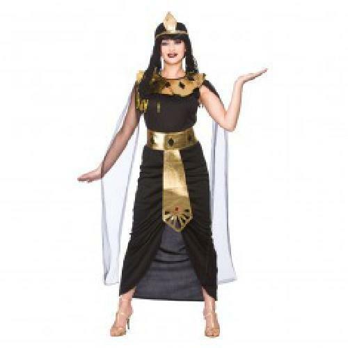 Charming Cleopatra Ladies Fancy Dress Costume Halloween