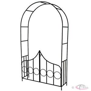 Rozenboog-met-hekje-Tuinboog-Tuin-Rozen-Rozenstruik-Bloemen-Rank-Obelisk-Pergola