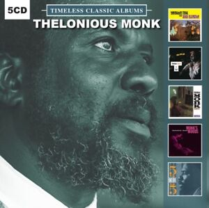 Thelonious-Monk-5-Timeless-Classic-Albums-5-CD-NEW-amp-SEALED