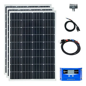 Camping Solaire Installation PV 100 w CAMPING-CAR solaires 12 V Set