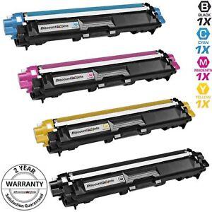 4-TN221-TN225-BLACK-amp-COLOR-Printer-Toner-for-Brother-HL-3170CDW-HL-3180CDW