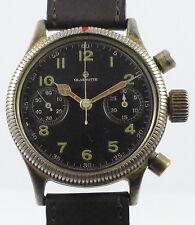 Tutima vidriería fliegerchronograph-Wehrmacht fuerza aérea-WW II-offiziersuhr