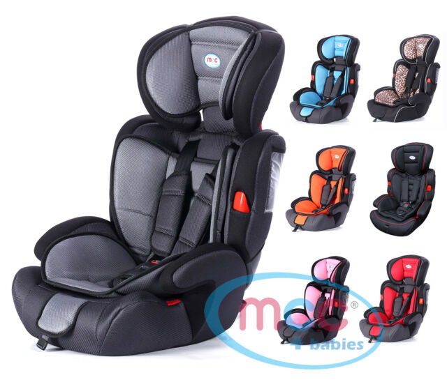 3in1 Child Baby Car Seat Safety Booster For Group 1//2//3 9-36kg ECE R44//04