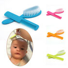 2Pcs Baby Safety Soft Hair Brush Set Infant Comb Grooming Shower Design Pack ca