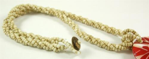 Natural Cone Shell Shiva Eye Pendentif Perles Collier fait main Bijoux CA210
