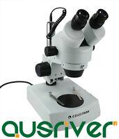 Celestron 40x Advanced Stereo Microscope 360°rotatable Head Halogen Bulb 44202