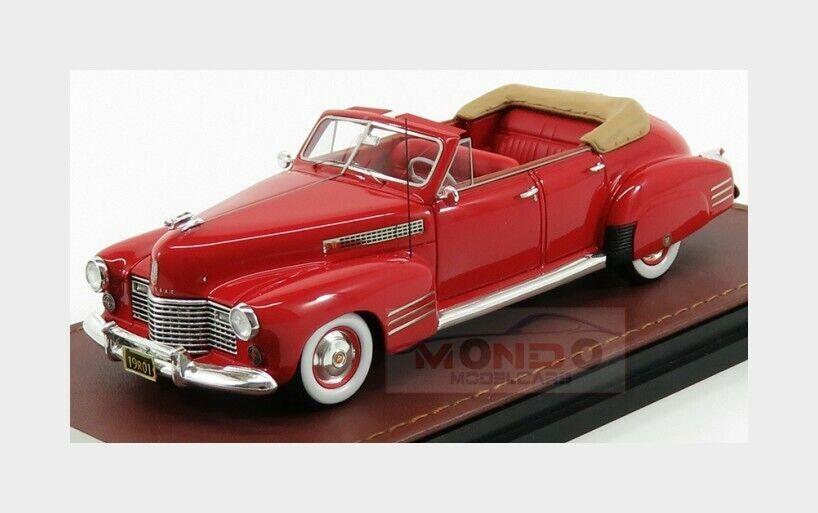 Cadillac serie 62 Sedan ConGrünible offen 1941 rot GLM ModelllS 1 43 GLM119201 Min