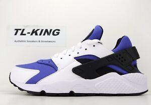 4cbeed7fe8835 Nike Air Huarache Run SE White Black Persian Violet AT4254 100 Msrp ...