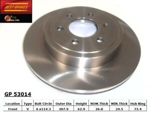 Disc-Brake-Rotor-fits-2003-2004-Dodge-Dakota-BEST-BRAKES-USA