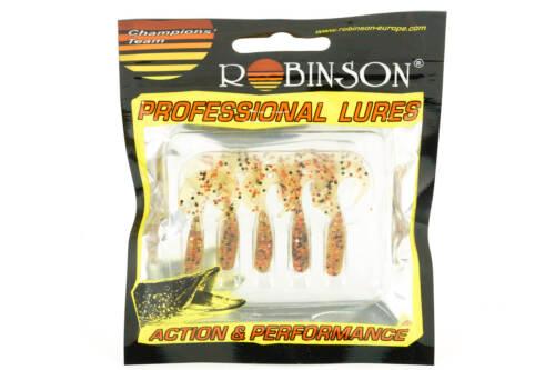 Robinson professional twister holytail 3,5cm/5stk couleur t06-doux appât (51-h)