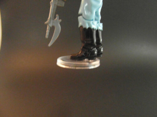 GI JOE STANDS FOR DISPLAY VINTAGE ACTION FIGURES CLEAR X 80 T6c