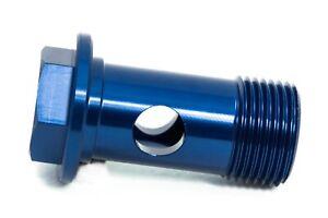 Hohlschraube M20x1,5 Blau