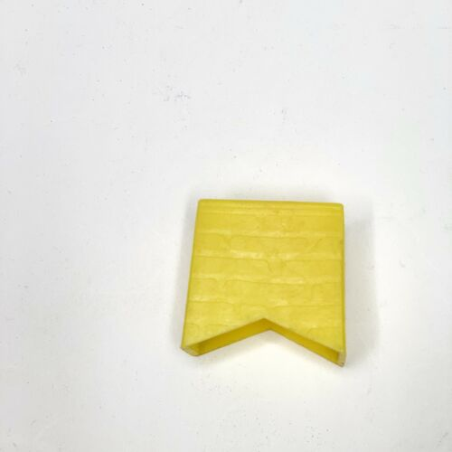 Vintage Lincoln Logs #891 #857 Replacement Roof Part Original Yellow Chimney