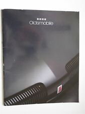 1993 OLDSMOBILE ACHIEVA CUTLASS SUPREME BRAVADA 98 88 DEALERSHIP SALES BROCHURE